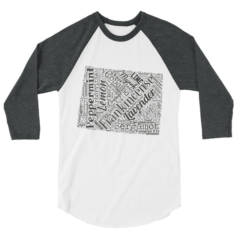Wyoming 3/4 sleeve raglan shirt