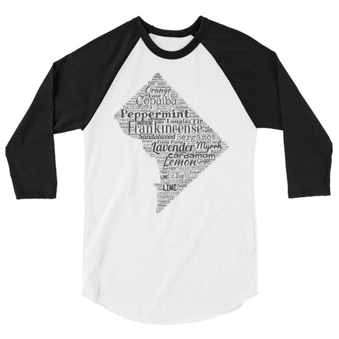 District of Columbia 3/4 sleeve raglan shirt