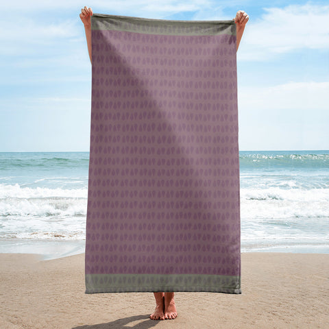 Oil Drop Beach Towel