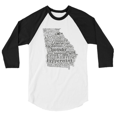 Georgia 3/4 sleeve raglan shirt