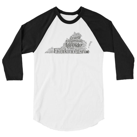 Virginia 3/4 sleeve raglan shirt