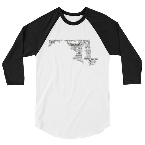 Maryland 3/4 sleeve raglan shirt
