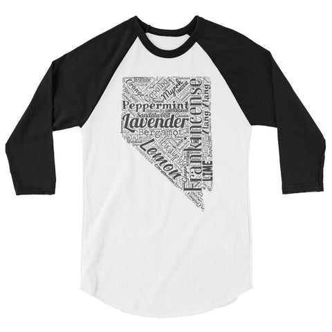 Nevada 3/4 sleeve raglan shirt