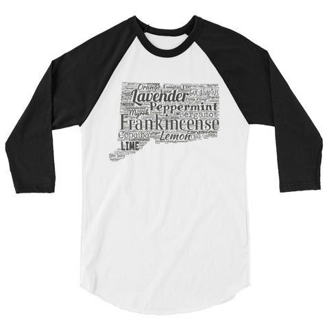 Connecticut 3/4 sleeve raglan shirt