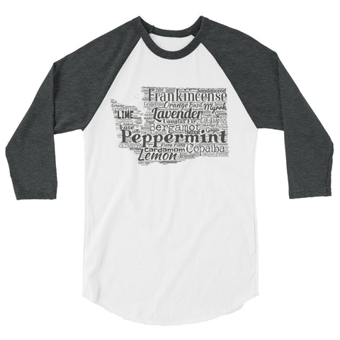 Washington 3/4 sleeve raglan shirt