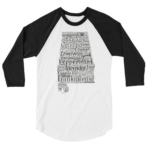 Alabama 3/4 sleeve raglan shirt