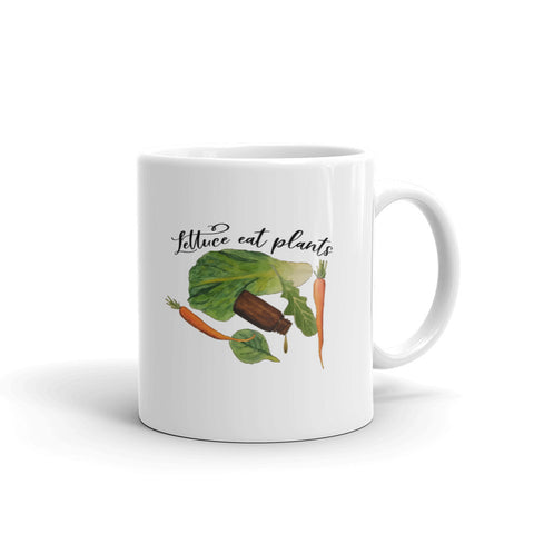 Lettuce Eat Plants Mug