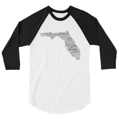 Florida 3/4 sleeve raglan shirt
