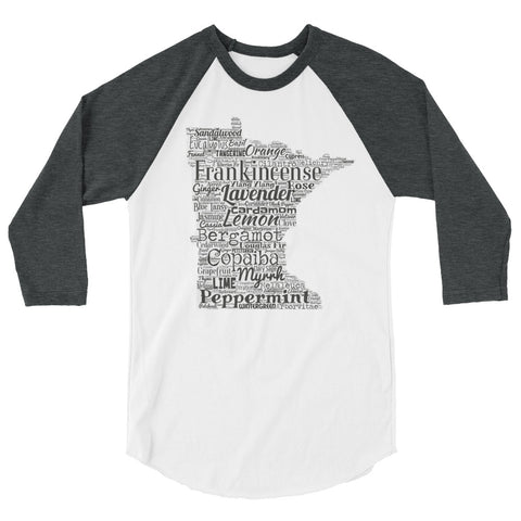 Minnesota 3/4 sleeve raglan shirt