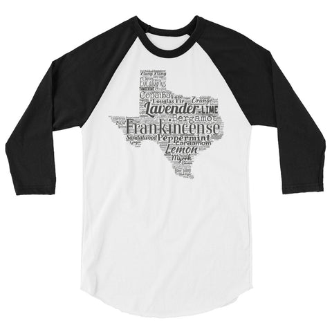 Texas 3/4 sleeve raglan shirt