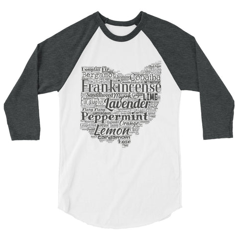 Ohio 3/4 sleeve raglan shirt