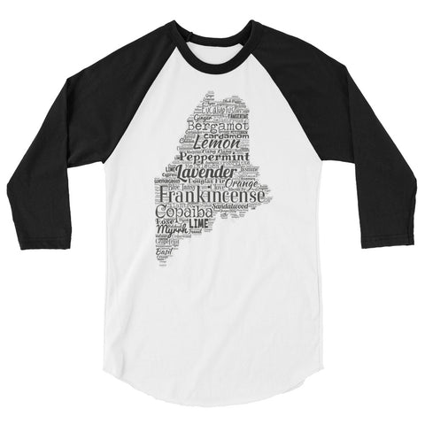Maine 3/4 sleeve raglan shirt