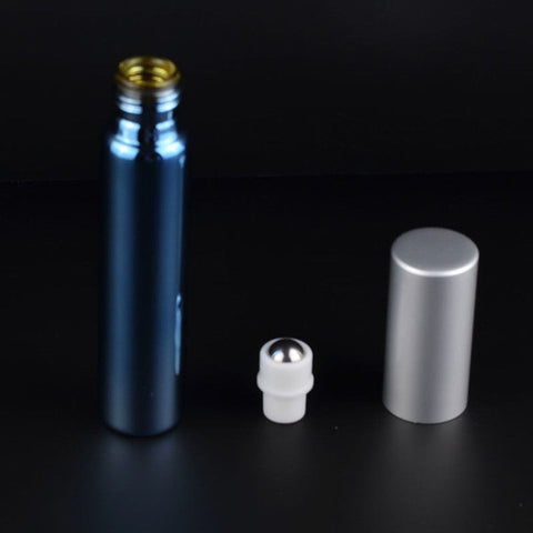 10ML Stainless Steel Essential Oil Metal Roller Bottle
