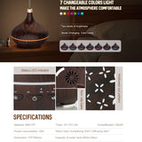 Alexa Compatible Smart Essential Oil Diffuser