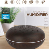 Alexa Compatible Smart Aromatherapy Essential Oil Diffuser