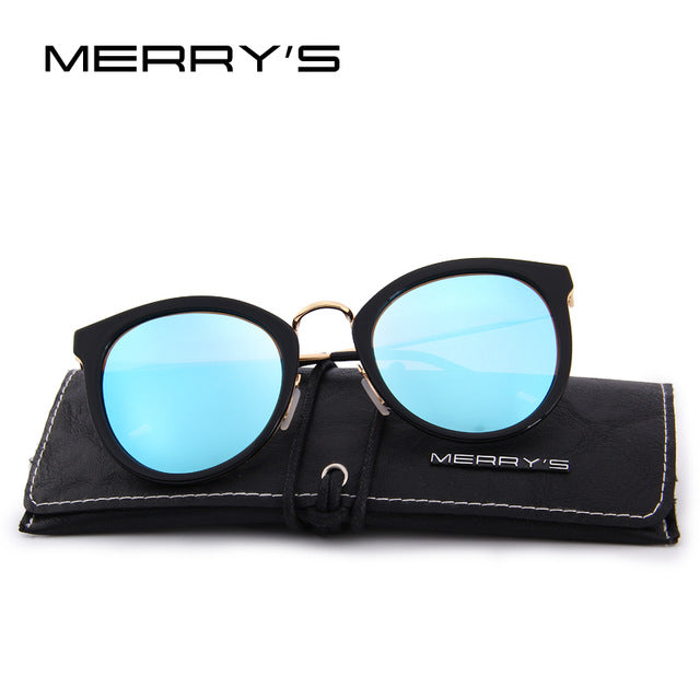 MERRY'S Women Brand Designer Cat Eye Sunglasses Fashion Polarized Sun Glasses Metal Temple 100% UV Protection S'6168, , 188 Photography, 188 Photography - 188 Photography