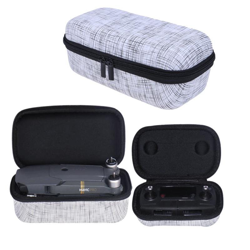 2pcs/set Portable Travel Carry Storage Bag Box for DJI Mavic Pro Drone/Controller Carrying Case Cover Pouch Box, , 188 Photography, 188 Photography - 188 Photography