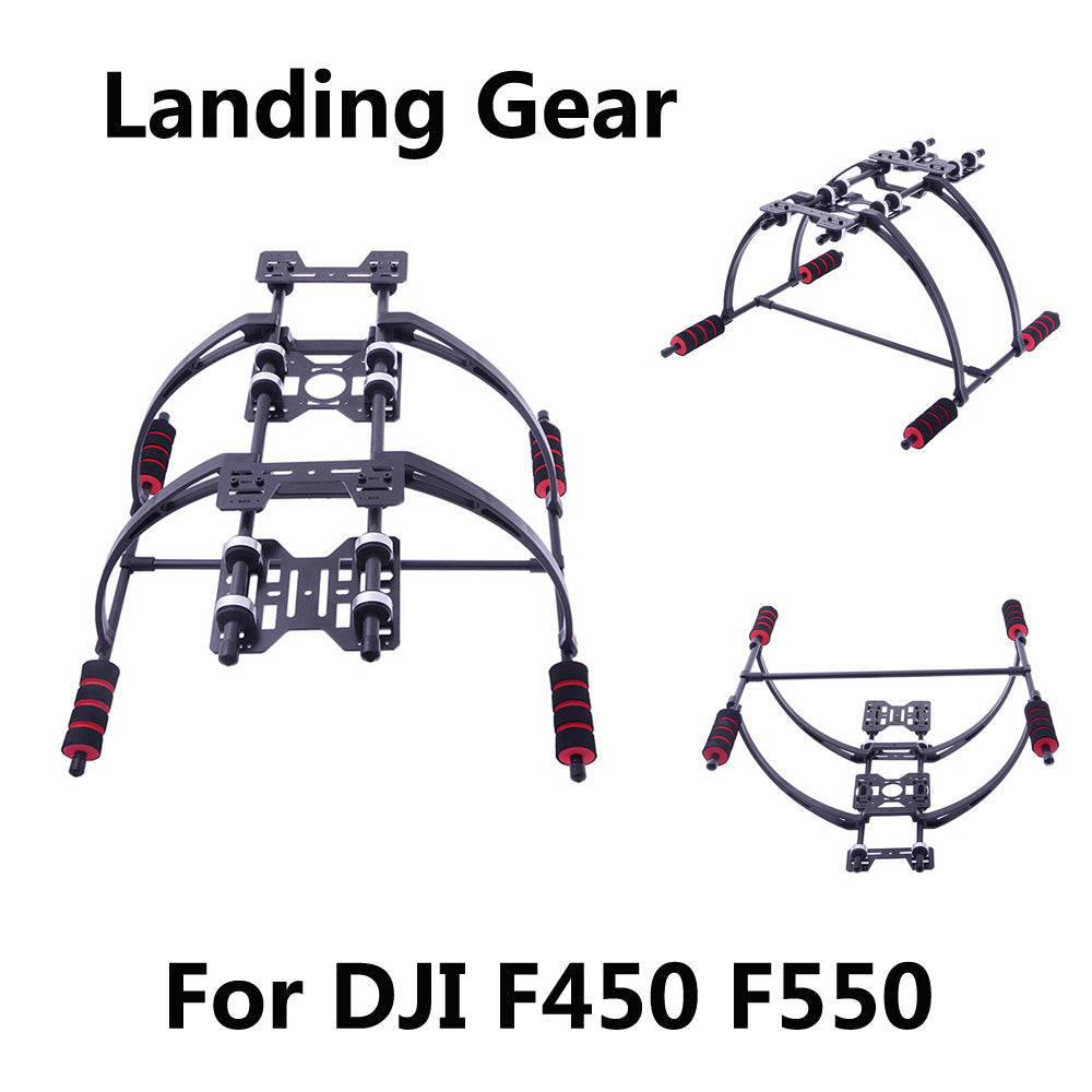 Highten Landing Gear Kit with Anti-vibration Cushion for DJ I F450 F550 Multicopter FPV Landing Gear RC Drone Quadcopter Parts, , 188 Photography, 188 Photography - 188 Photography