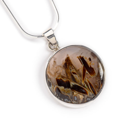 Stick Agate Necklace - Natural Designer Gemstone