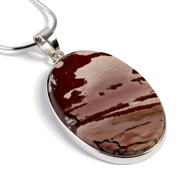 Dead Camel Jasper Necklace - Natural Designer Gemstone