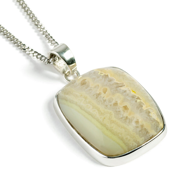 Mexican Crazy Lace Agate Necklace -  Natural Designer Gemstone