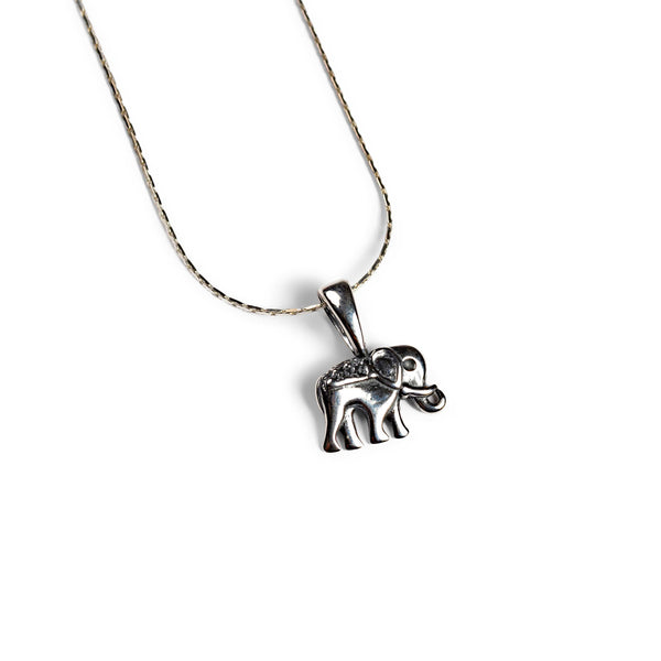 Elephant Necklace in Silver - Your Lucky Charm