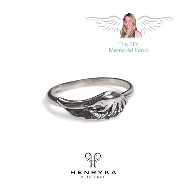 Angel Wing Ring in Silver