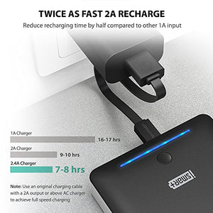 Portable Chargers 16750 RAVPower 16750mAh External Battery Pack 4.5A Dual USB Output External Phone Charger Power Pack Power Bank (iSmart 2.0 Tech) for Nintendo Switch, iPhone 8, Galaxy S8 (Black)