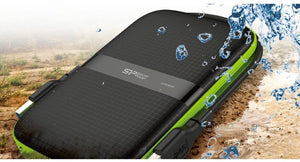 Silicon Power 1TB Black Rugged Portable External Hard Drive HDD Armor A60, Shockproof and Water resistant USB 3.0