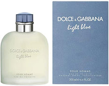 DOLCE&GABBANA Light Blue Pour Homme Eau de Toilette Spray, 6.7 oz.