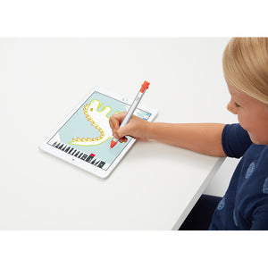 Logitech Crayon Digital Pencil for iPad Pro 12.9-Inch (3rd Gen), iPad Pro 11-Inch, iPad (7th Gen), iPad (6th (Gen), iPad Air (3rd Gen), iPad Mini 5, iOS 12.2 and Above — (Orange)