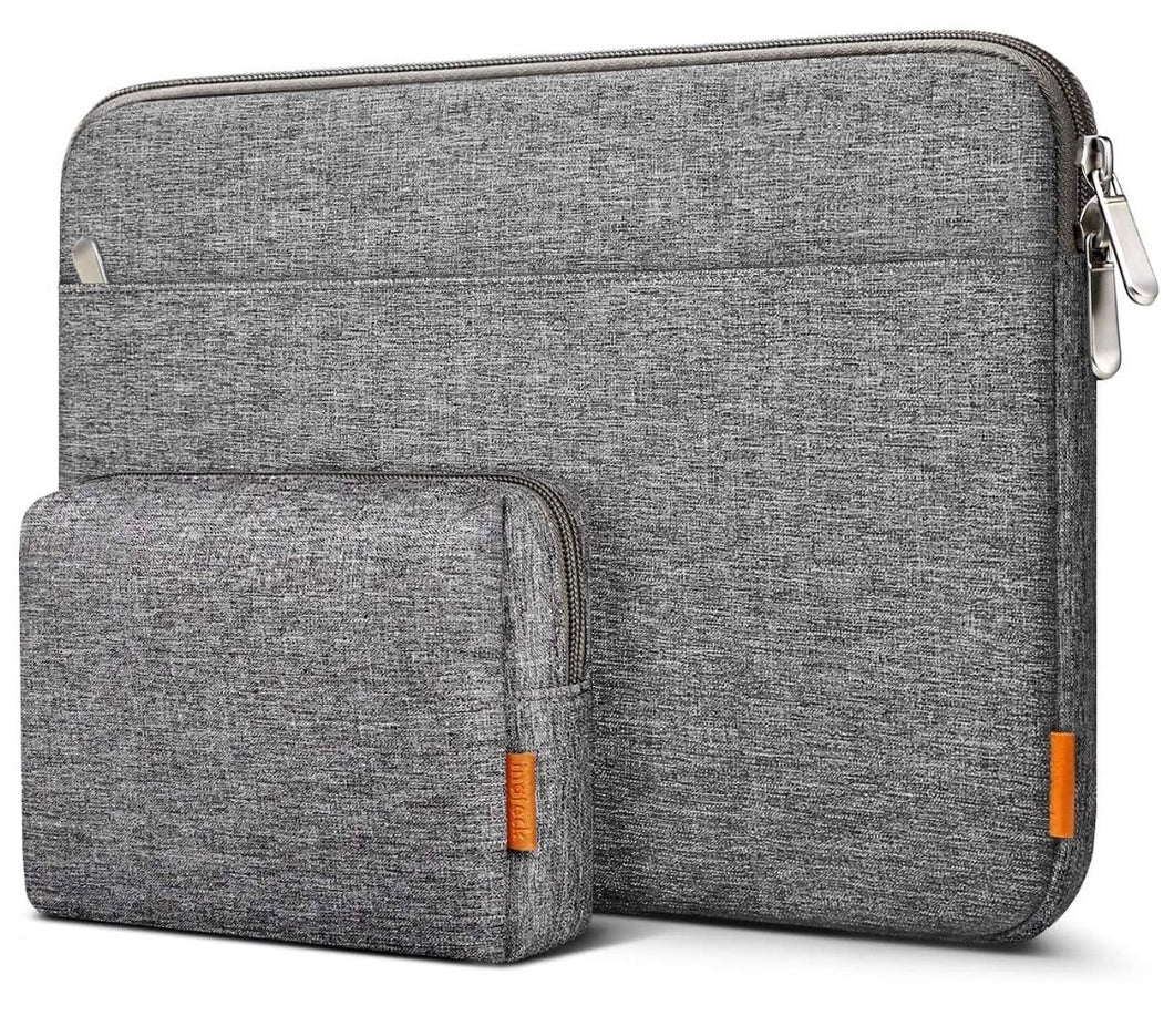 Inateck 14 Inch Laptop Sleeve Case Bag Compatible with 14'' Laptops, Notebooks, Chromebooks, Gray