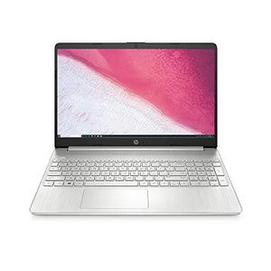 HP 15-inch HD Laptop, AMD Ryzen 3 3200U Processor, 8 GB RAM, 256 GB SSD, Windows 10 Home (15-ef0021nr, Natural Silver)