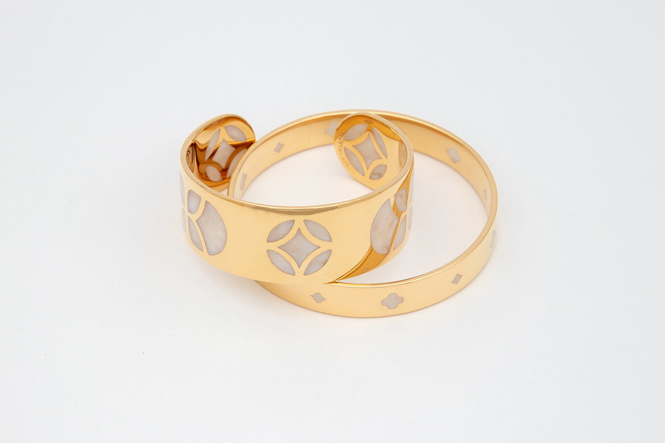 YLAN BANGLE - Gold Vermeil