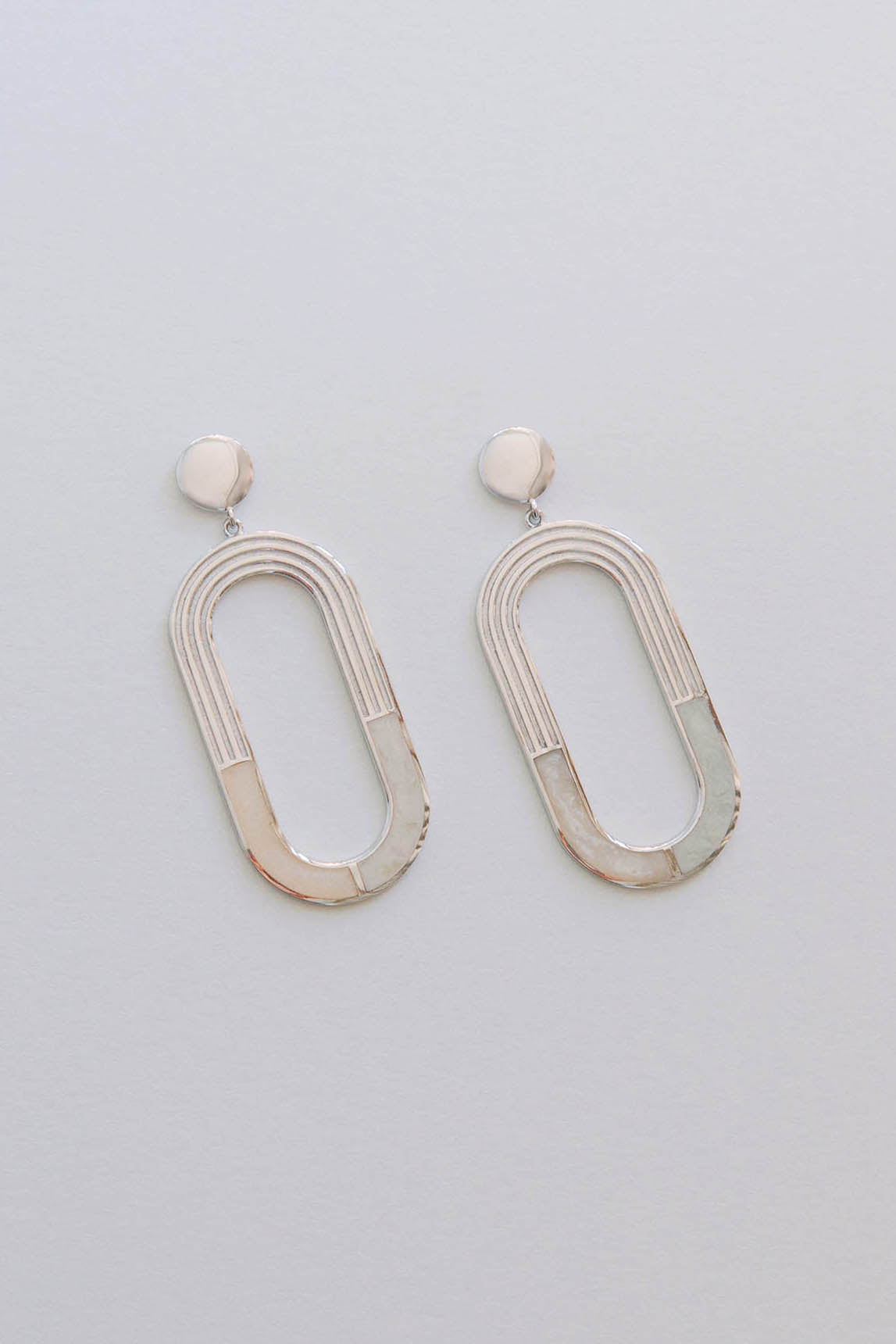 L'ARC EN CIEL EARRINGS - Sterling Silver