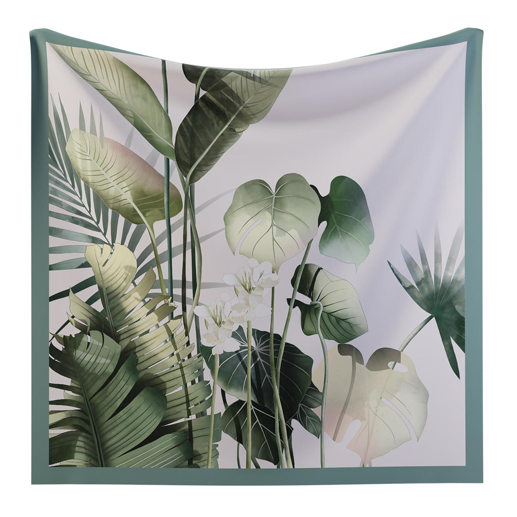JARDIN TROPICAL - Silk Scarf
