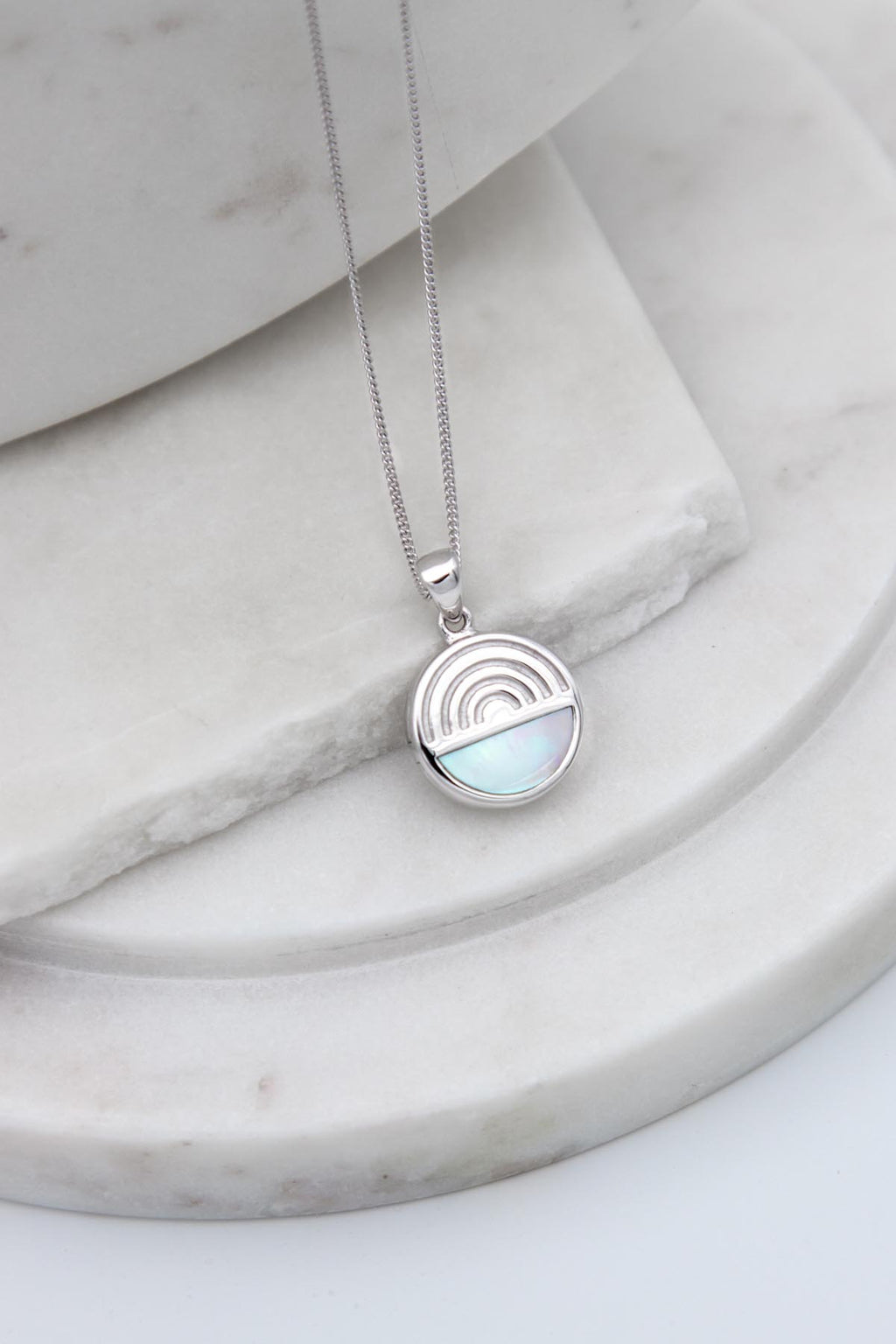 L'ARC EN CIEL SECRET LOCKET NECKLACE - Sterling Silver