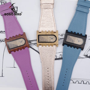 BOBO BIRD Wooden Watch Handmade