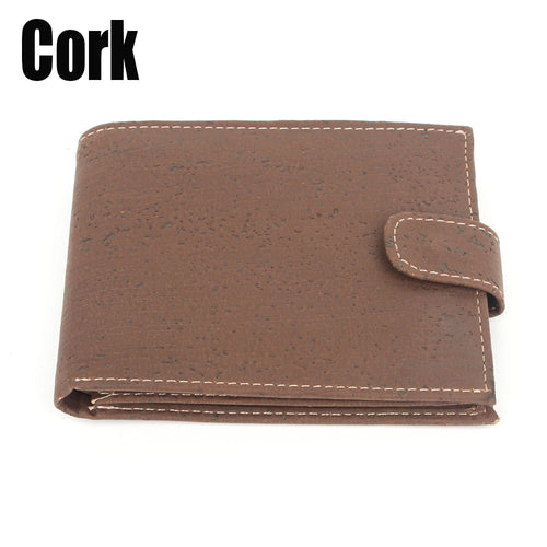 Cork Wallet vegan handmade