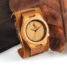 BOBO BIRD Bamboo Wood Watches Chicago Soft