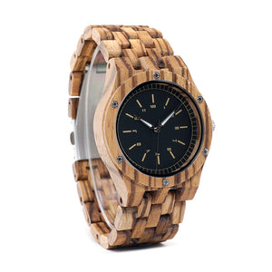 BOBO BIRD Luxury Zebra Wood