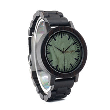 BOBO BIRD Ebony Wooden Watch