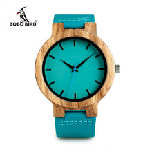BOBO BIRD Blue Leather