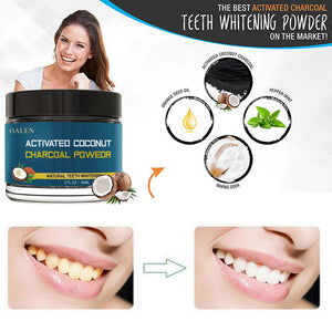 Coconut Shells Activated Carbon Teeth Whitening Organic Natural Bamboo Charcoal Powder