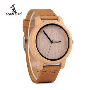 BOBO BIRD Bamboo Wooden Watch