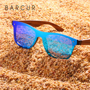 BARCUR Walnut Sunglasses