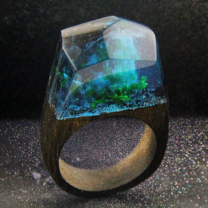 Magic Wooden Secret Forest Resin