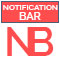 HTML Notification Bar