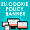 European Cookie Policy Banner