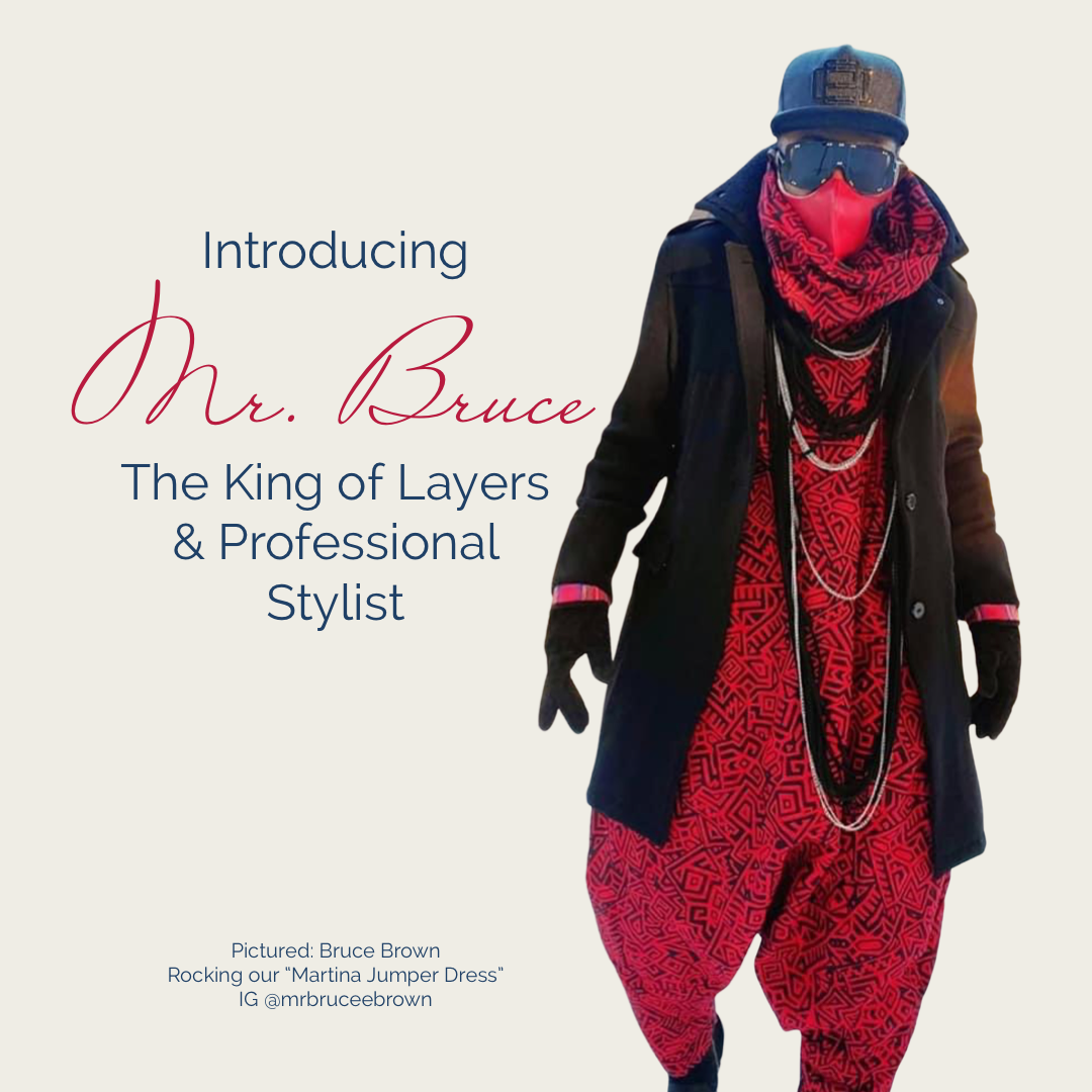 Mr. Bruce Brown in the Martina Jumper by House of Haute